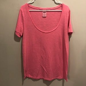 Victoria secret pink t shirt basic style classic